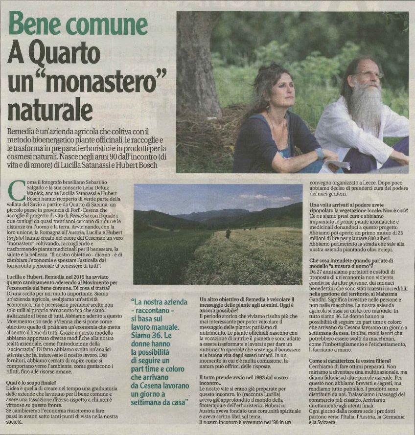 Corriere Cesenate - AgriRomagna del 20 giugno 2019