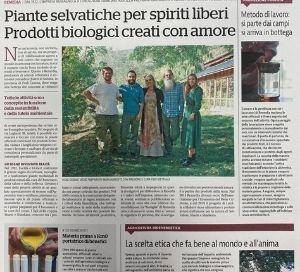 Corriere Bologna - Speciale agricoltura del 19 giugno 2021