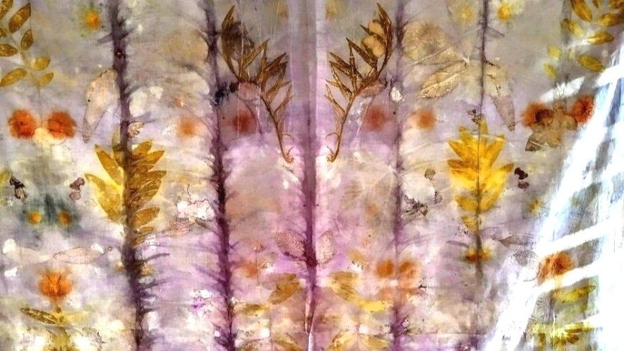 Beijaflor: tinture naturali ed ecoprinting